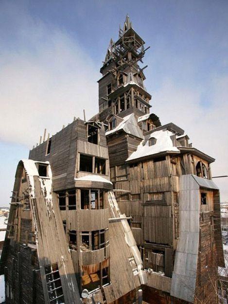 La casa de madera del gánster