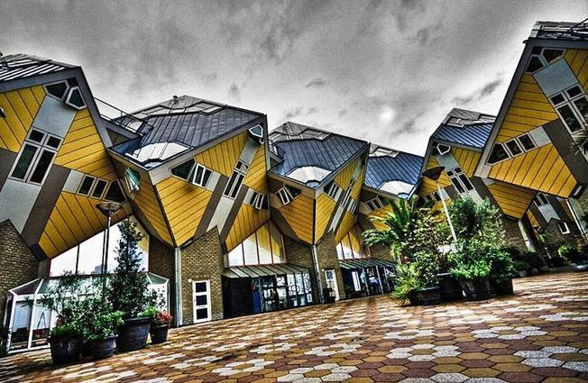 Las casas cúbicas Piet Blom