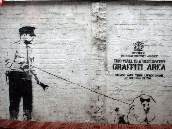 banksy graffitis